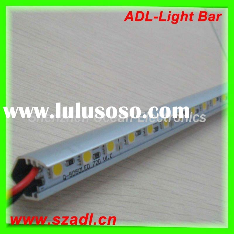 waterproof aluminium 12v 5050 led bar light