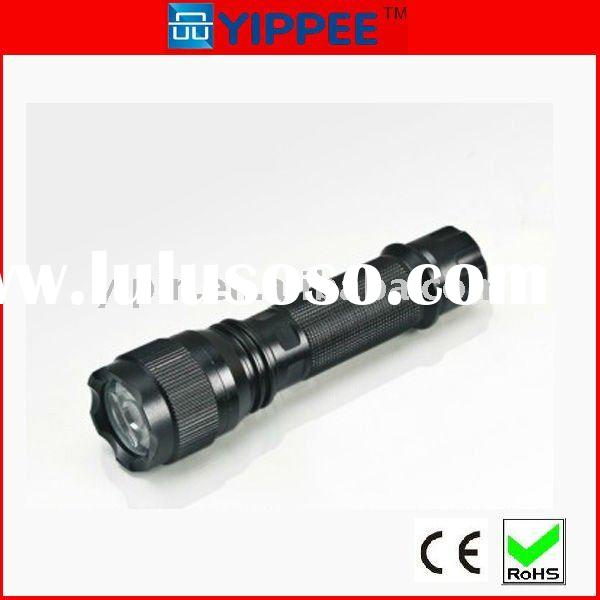 waterproof,rechargeable Cree Q5 led aluminum flashlight