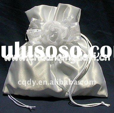 white flower love wedding candy bag /Wedding decoration and gift/Candy bag for wedding favor