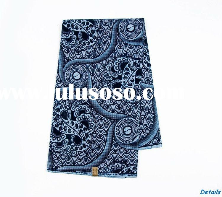 wholesale fashion veritable african cotton printing fabric wax design 167W