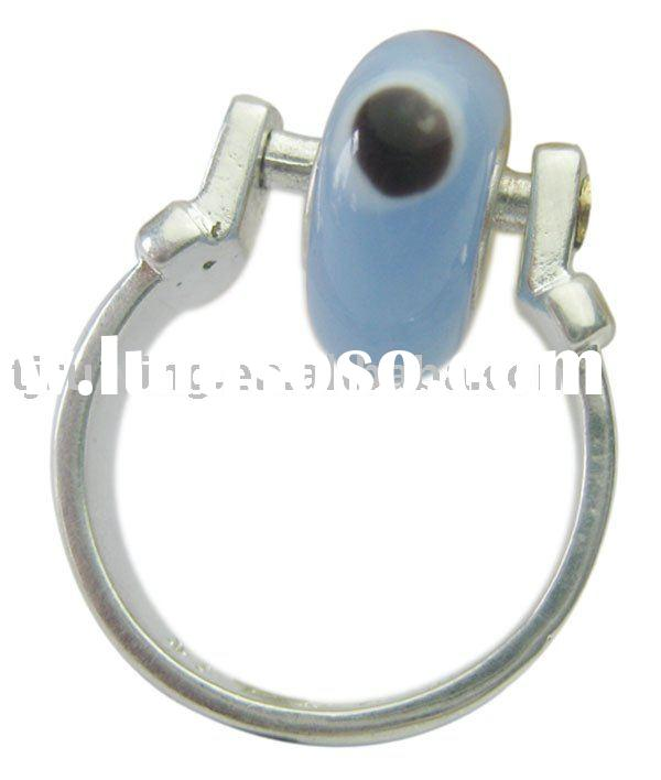 wholesale high quality wide hole bead ring RY003024