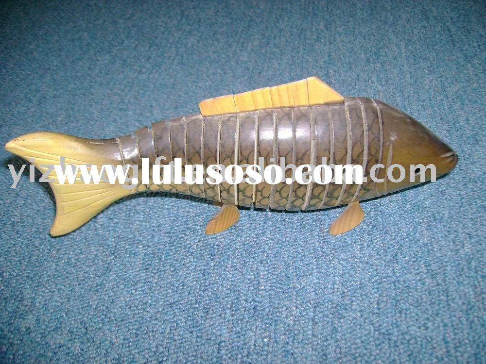 wooden gift;wooden fish