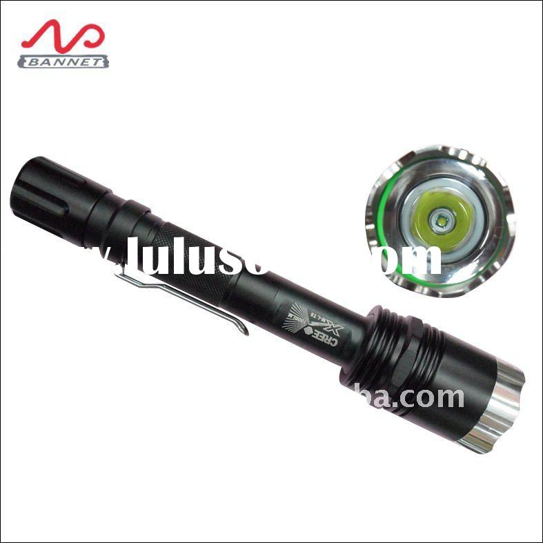 1000lumen rechargeable torch, cree led flashlight t6