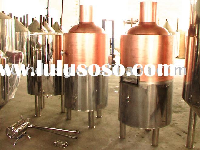 100L micro brewery equipment for bar and restaurant