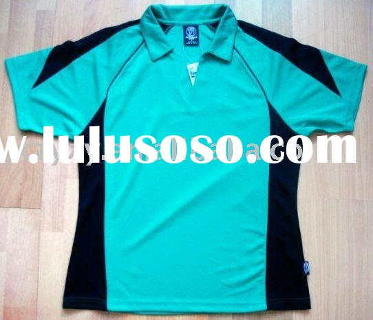 100% polyester ladies' quick dry training polo shirt