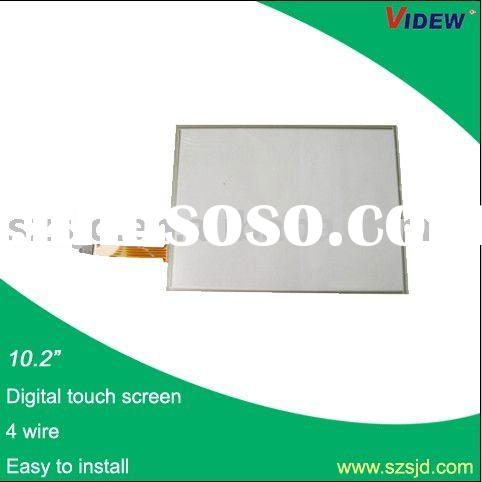 """10.2"""" 4-Wire resistive touch screen with USB interface"""