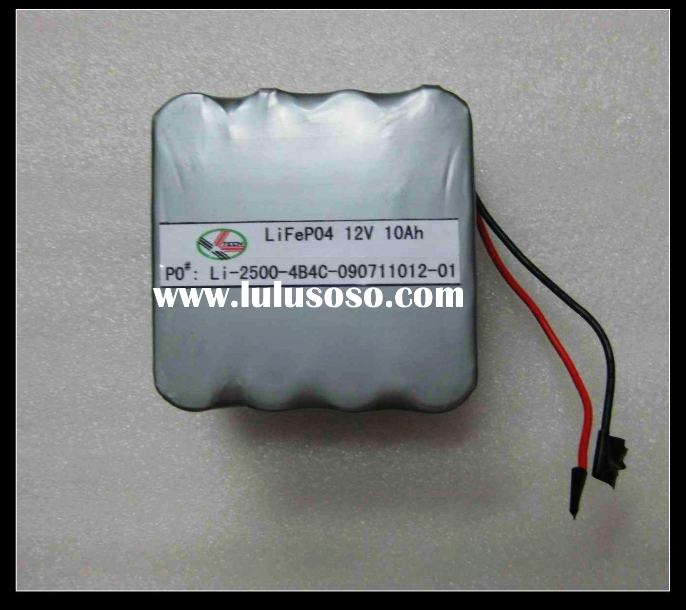 10ah lithium-ion rechargeable battery 12v lifepo4