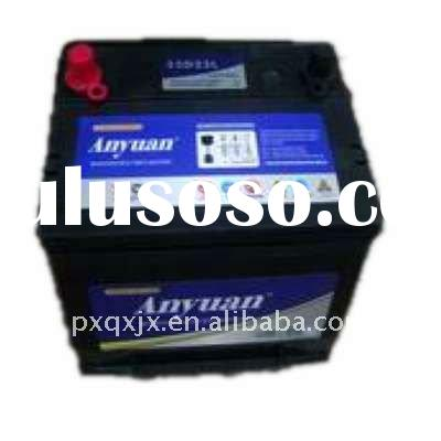 12V75AH Super Power Dry Charged Automotive Battery