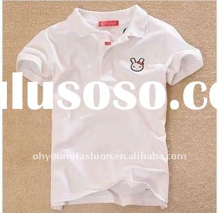 140grams hot sale fashionable stylish pure cotton short sleeve polo neck custom and casual branded n