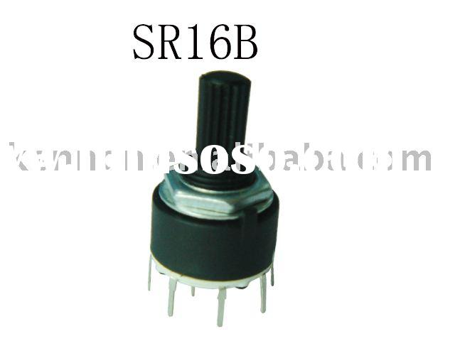 16mm rotary switch