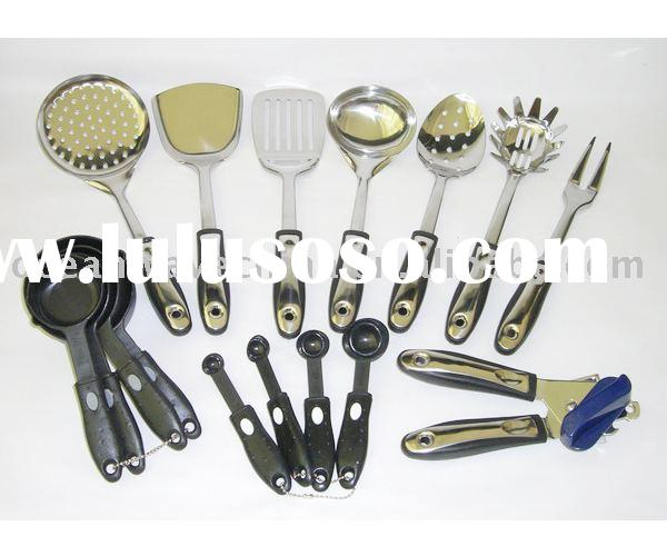 16pc High quality stainless steel kitchen tool set