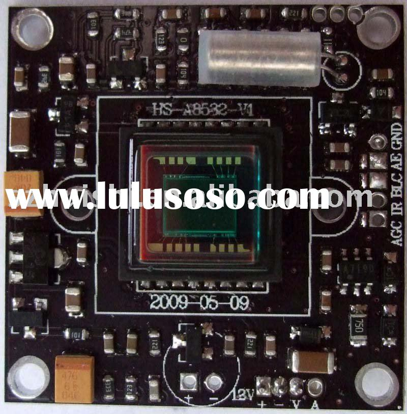 "1/3"" Sony 540 TVL color CCD board camera, PCB board camera"