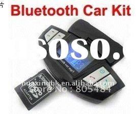 1.4-inch LCD screen Steering Wheel Car LED Bluetooth Hands Free Phone Support SD card Fw131