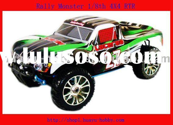 1/8th 4WD Brushless Rally Car rc car rechargeable battery power