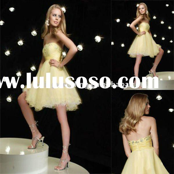 2011New style fashion bridal gown (SJM20) prom dresses