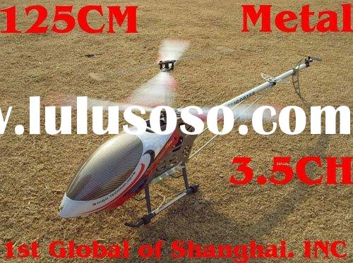 2011 New arrival ! ! Biggest size 125cm 3.5ch rc helicopter 2 Speed Model Metal frame Gyro and LED l