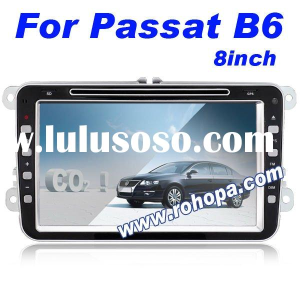 2011 Newest 8 Inch 2 din Car Audio System For Volkswagen Passat B6 With phone book & airconditio