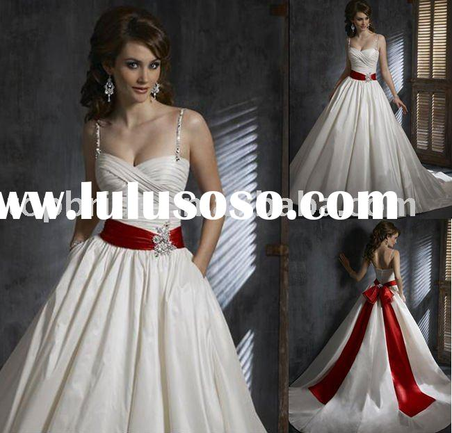 2011 Topbride Best Quality Wholesale OEM Professional Factory Bridal Wedding Dresses/Gowns AS545