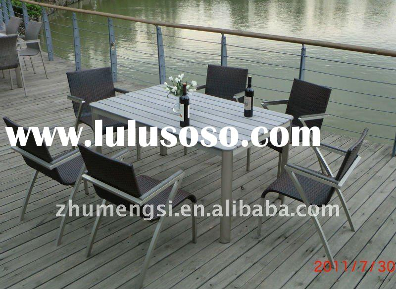 2011-best-selling anodized aluminum outdoor furniture