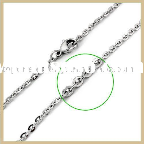 2011 mens brushed stainless steel cross necklace