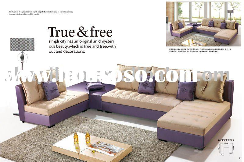 2011 modern home fabric recliner sofa chair sets couch furniture 269