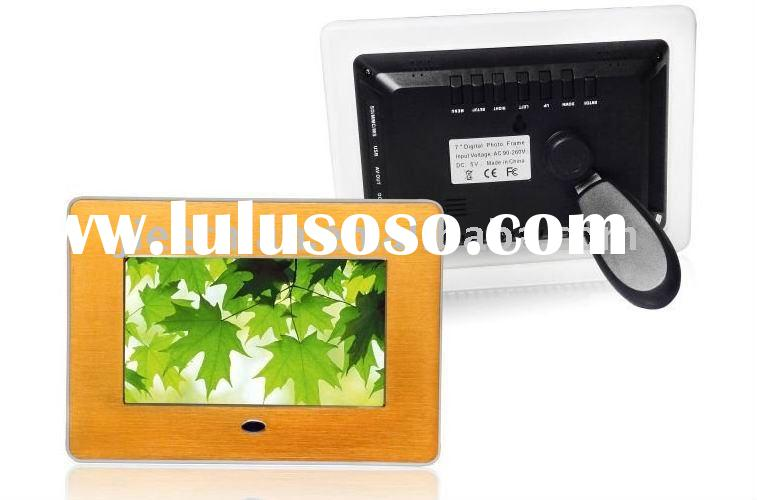 2011 new 7 inch digital photo frame with