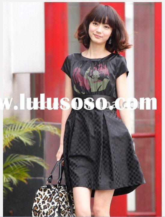 2011 new design summer collection lady dress(y189)