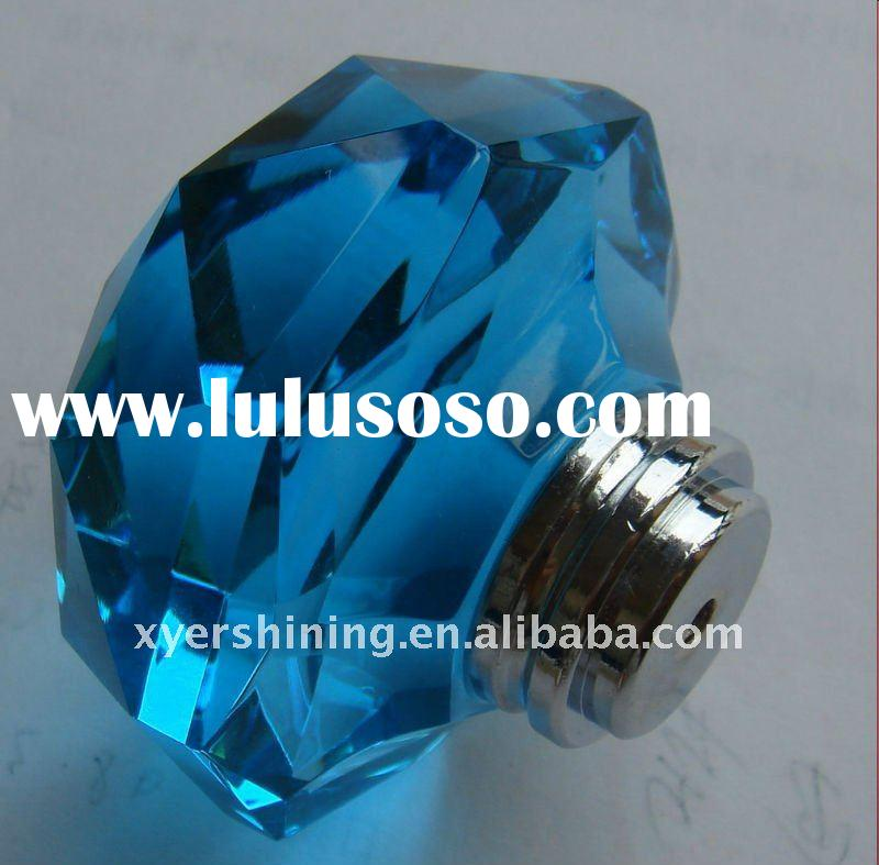 2011 new hot sale style for high end crystal drawer pulls and knobs