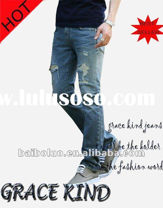 2012 Fashion Men's Jeans,Ready Made Jeans Wholesale(GKMJ0215)
