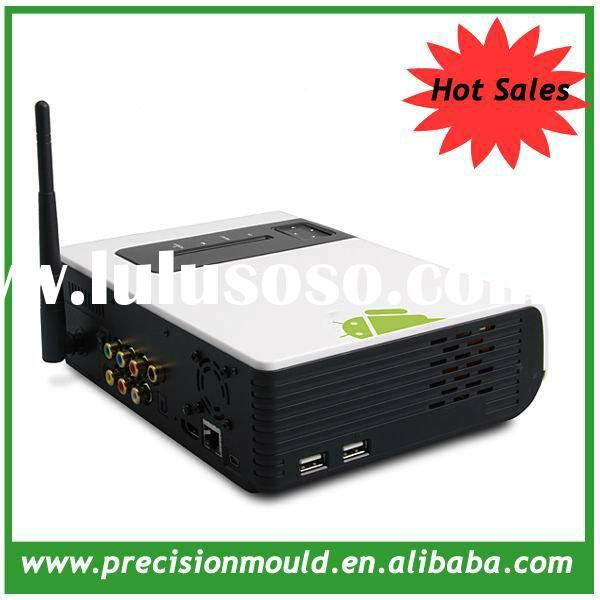 2012 Hot New android tv box satellite receiver no dish, 1080P media player