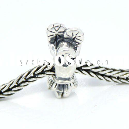 2012 Newest Style Fashion Wholesale Jewelry 925 Sterling Silver Chamilia Beads
