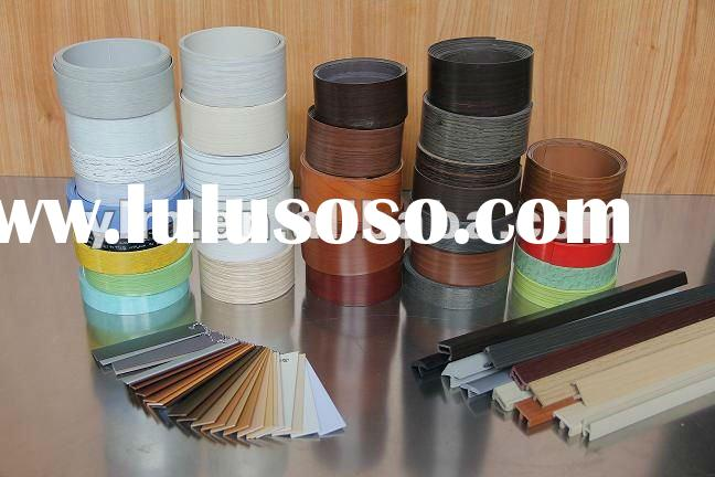 2012 popular decorative Pvc edge banding tape
