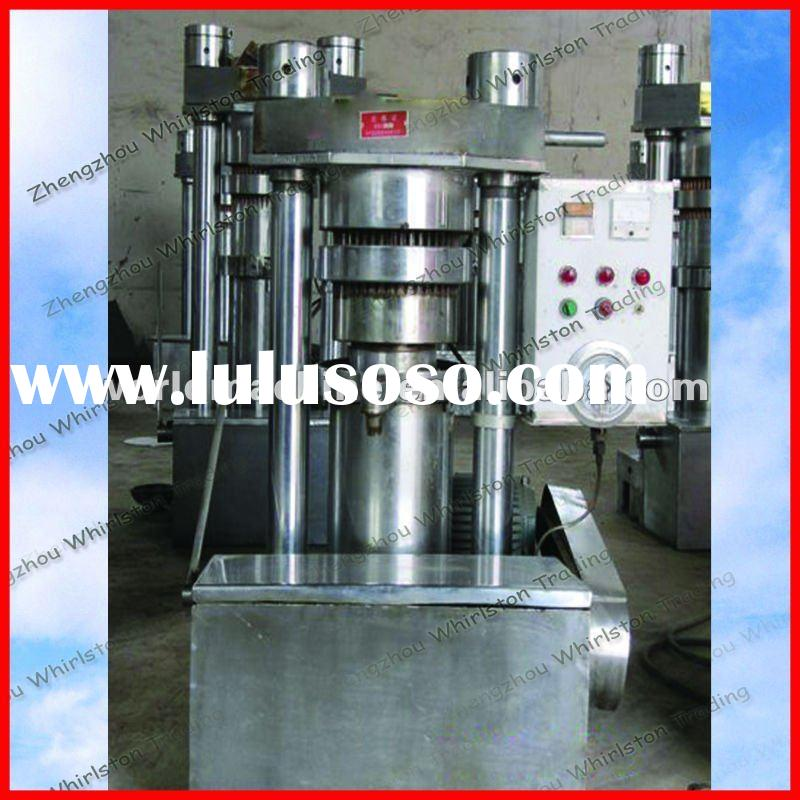 2012 professional Sesame hydraulic oil press machine