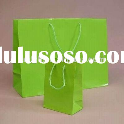 2012small brown paper bags with handles