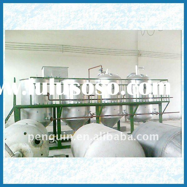 20-50T/D sunflowerseed crude oil refinery/refining equipment