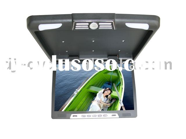 20 inch LCD roof mount Flip down ceiling lcd monitor car TFT LCD monitor/bus monitor DJ-2008