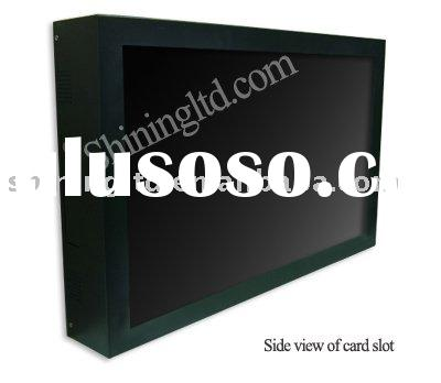 26 inch touch screen lcd advertising display