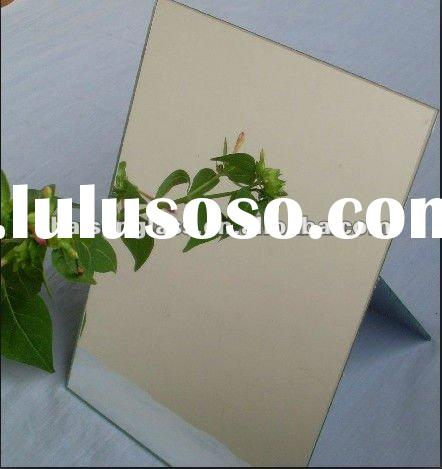 2mm--6mm aluminum mirror glass for bathroom,building,furniture and cabinet