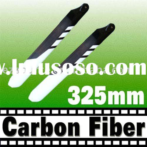 325mm Carbon Fiber Blade for Trex 450 rc helicopter
