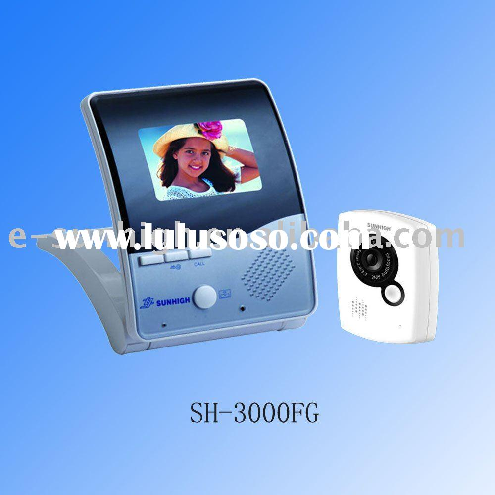 3.5 inch 4 Wires LCD-TFT Color Video Door Phone for Apartment