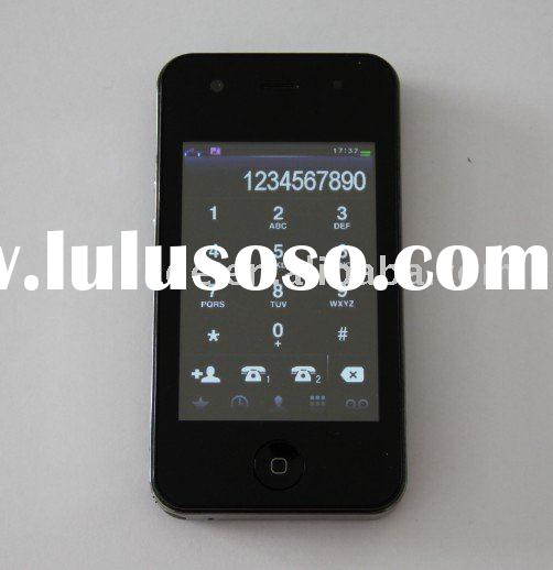 4GS 3GS wifi Cell phones GPS quad band Dual sim cards TV unlocked F98 (accept paypal)