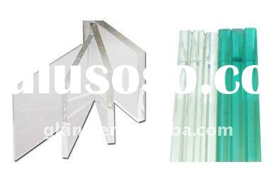 4-19mm low iron ultra clear decorative glass