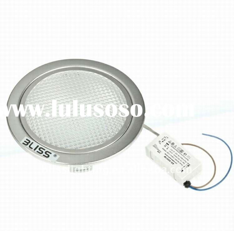 4'' 6W round plastic ceiling light covers