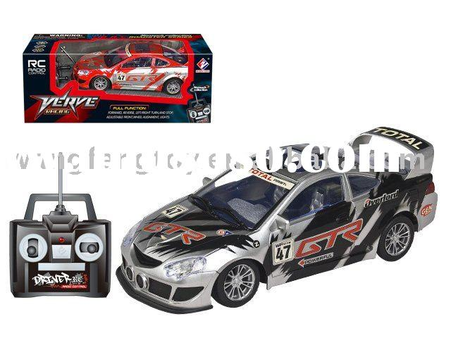 4-function rc car race car toys