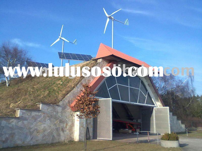 5KW Wind generator and solar hybrid system with CE