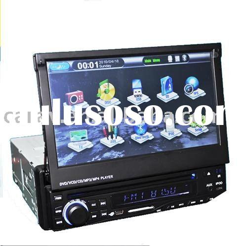 """7"""" One Din Indash Motoriesd Car DVD Player with GPS/Bluetooth/RDS"""