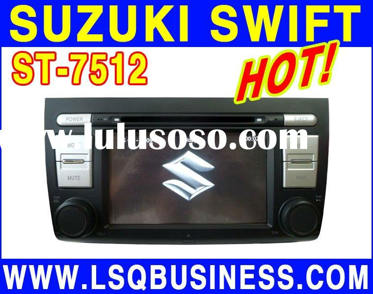7 inch Suzuki Swift Car DVD Player with GPS /Bluetooth/IPOD/TV/Raido, hot selling!