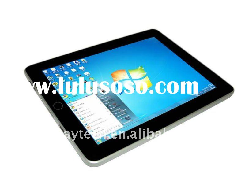 9.7 Inch Windows7/XP Intel Atom N455 Processor,1.66GHz Capacitive touch, 3G, bluetooth MID/tablet PC