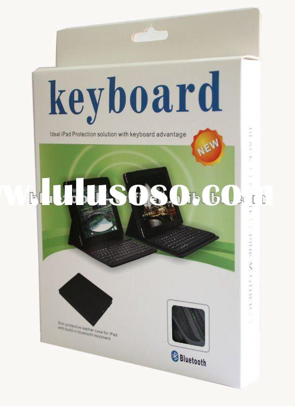 "9.7"" tablet pc leather case bluetooth keyboard"