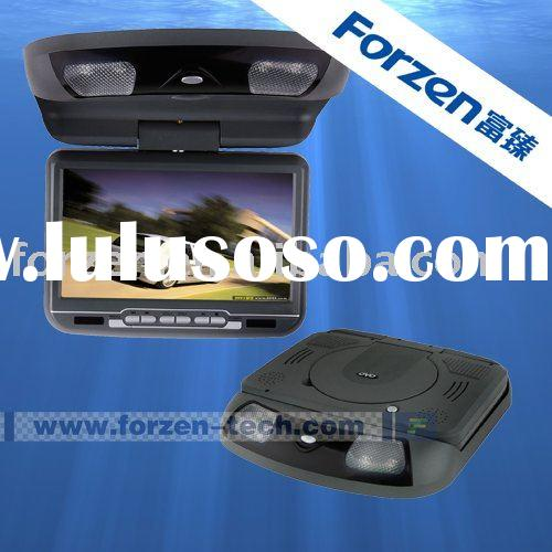 9 inch overhead car dvd player with sony lens